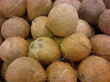Good Quality Pure Fresh Semi husked Dry coconut for sell