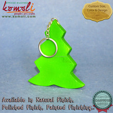 Wooden Single Color Flat Hanging Christmas Tree - mini christmas tree make it christmas ornaments wooden christmas decoration
