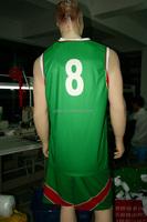 Healong Manufacturer reversible basketball uniform new design basketball jersey