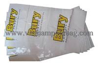 Flat plastic bag for wrap