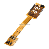 Brand New Super Quality Dual Sim Cards Double Adapter For iPhone 4 4S For Samsung Galaxy S5 S4 S3 Note 2 3 Good Selling