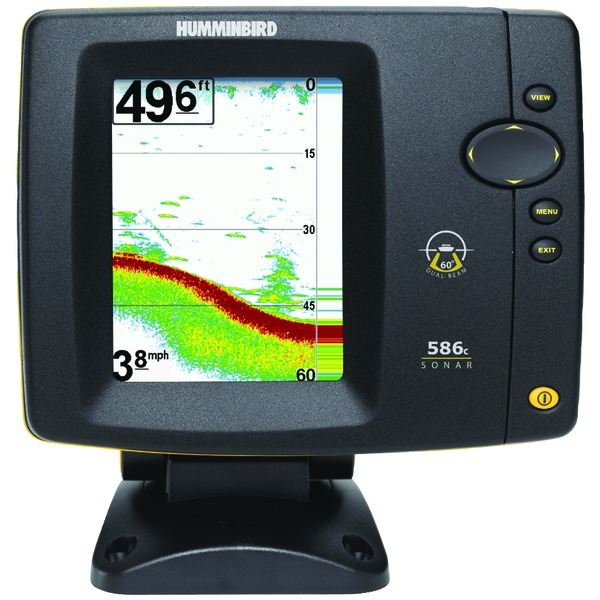 Humminbird 586c hd fish finder buy marine electronics for Utah fish finder