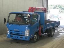 2012 Isuzu Elf 4 Stages Crane Truck 2 Tons/TKG-NPR85AR/4JJ1 3000cc