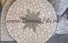 Encaustic cement tiles CTS Mosaic Table 6
