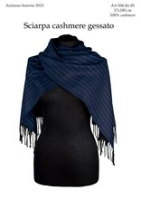 """Cashmere scarves """"made in Italy"""" stock"""