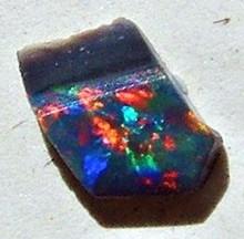 Black Opal Gemstone Rough