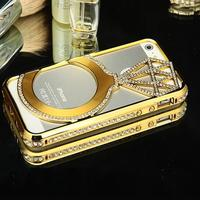 Newest Factory Supplier Luxury diamond Mobile Phone Case For Iphone 5s Iphone6 Iphone6s Mobile phones