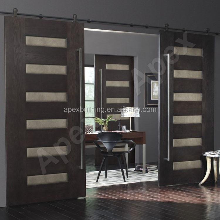 moderne conception acajou bois teck d 39 entr e en bois porte. Black Bedroom Furniture Sets. Home Design Ideas