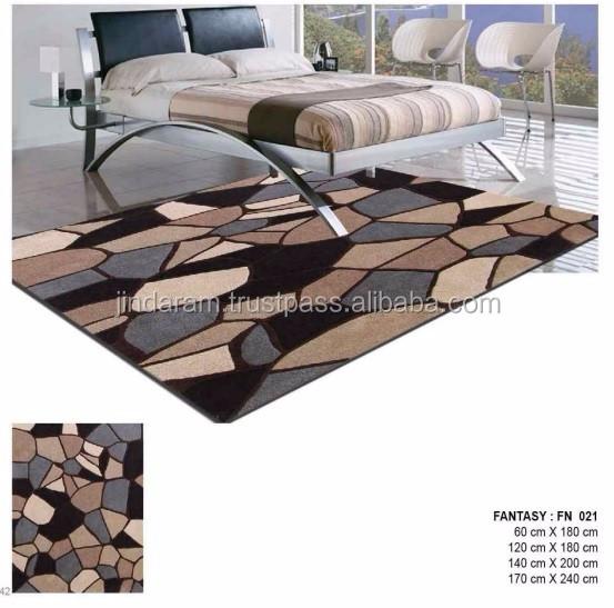 Latest design handtufted cotton carpets for 5star hotels.jpg