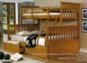 Triple Bunk Bed with drawers