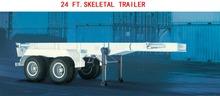 40 FT 60 FT SEMI LOW BED TRUCK TRAILER HEAVY DUTY AXLES HEAVY DUTY MULTILEAF SUSPENSION TRUCK TRAILER heavy duty boat trailers