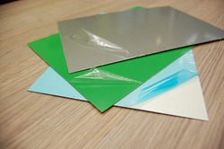 Protective film for metal sheets