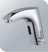 Automatic infra-red bathroom tap mixer
