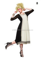 Georgette Ladies Kurtis | Fancy Ladies Kurti | Neck Design Kurtis