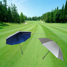 Easy grip nylon all weather golf umbrella for outdoor advertising