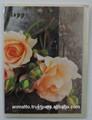 feliz aniversario con el amor de la tarjeta de felicitación