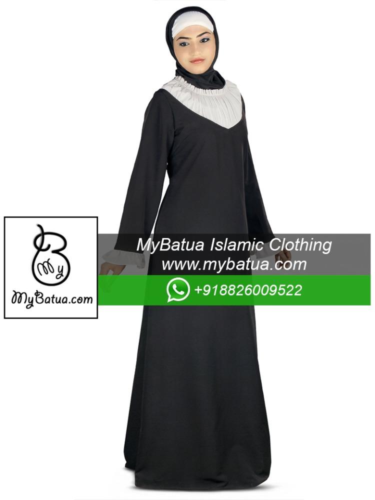 Modern islamic clothing wholesale muslim long dress ladies maxi burka