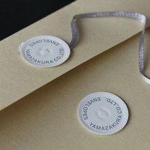 Smart accent item tie string envelopes made in Japan maker