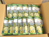 Freeze dried monthong durian