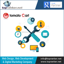 Multilanguage/Multi Currency Supported Tomato Cart Ecommerce Website Development