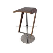 Modern Fashion Wooden Bar Stool & Swivel Wooden Bar Stool X5002 J
