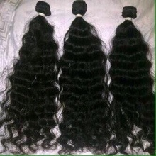 free sample sew natural loose wave virgin unprocessed 100% Indian human hair extensions