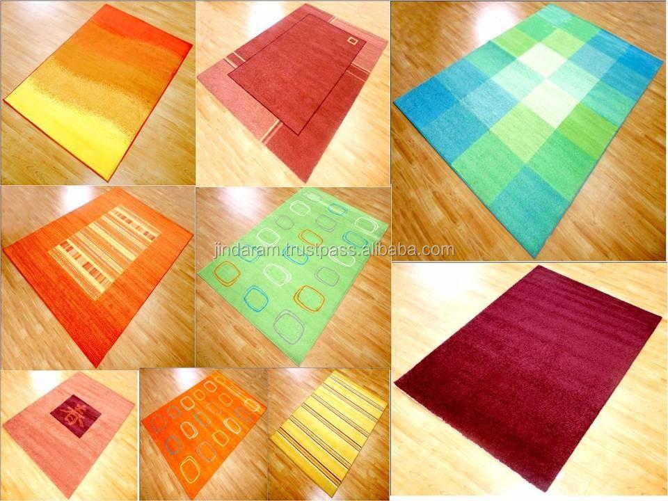 Cheap stocklot nylon machinemade bedisde carpets .JPG