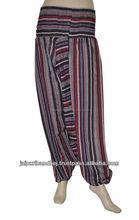 las mujeres indias hippie holgados vestidos para niñas harem pantalones de alibaba