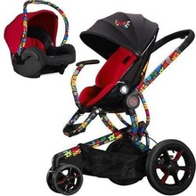 Buy Now 2 Pcs And Get 1 Free Quinny Britto Moodd Stroller Travel systemw Mico AP Car Seat Blue