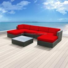 2015 Rattan Furniture Garden Sofa Sets/ PE Wicker Furniture for Living Room