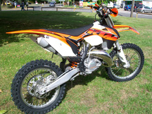 KTM XC 300 Enduro Motocross