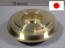 High precision and Reliable brass gate valve 3D Machining for making with clean finish made in Japan