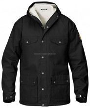 Black 2015 Winter Goose Down Jacket