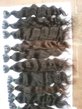 Unprocessed Sassy Human Hair Extensions 100% Virgin Indian Remy Temple Hair Flip In Hair Direct Factory Price