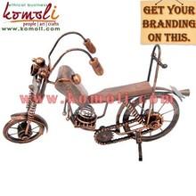 Miniatura modelo de bicicleta decorativos( de hierro forjado y chapa de hierro)- el diseño de varios, tamaño