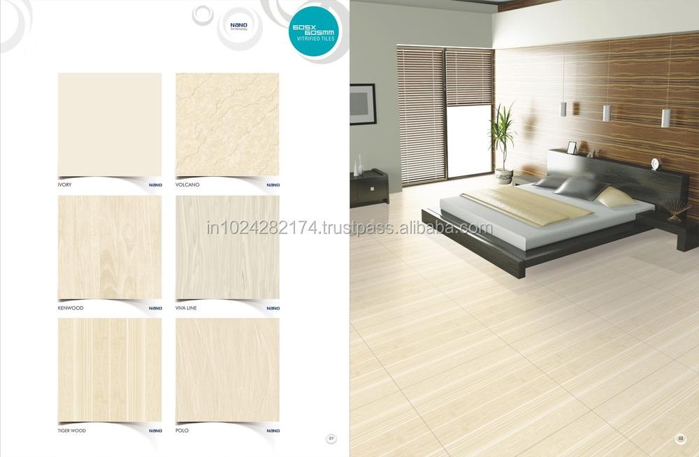 Cream Color Nano Polished Porcelain Floor Tilesvitrified Tiles
