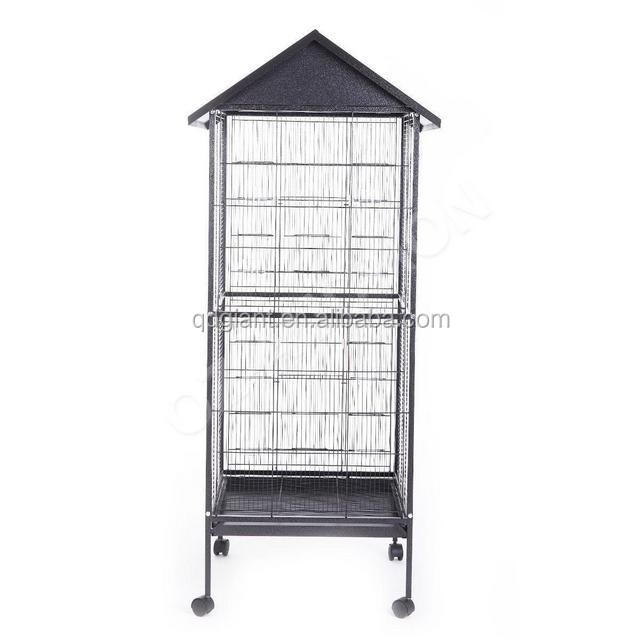 Large Size Aviaries Parrot Bird Cage With Drinker And
