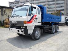 [ 906-ZG ] se utiliza ISUZU camión volquete para la venta