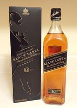 Black label blended scotch whisky d'écosse
