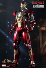 "Hot Toys Iron Man 3 Heartbreaker Mark 17 XVII 1/6 Scale 12"" Figure MISB In Stock"