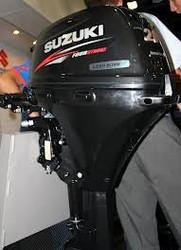 Used Suzuki DF20 20 HP 20hp 4 Stroke Outboard Motor Engine
