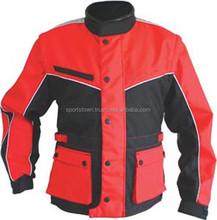 Wholesale Cheap Reflective Motorcycle/Motorbike Cordura 600D Jacket, Custom Red&Blue Textile racing Jackets
