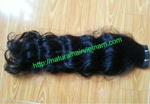 Fast Delivery 100% Human Hair beautiful Natural Color 10-44 inch Hair Extensions