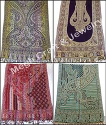 Designer Handmade Scarf-Girls Neck Wrap Hijab Shawl-Wholesale Indian Women Wear Silk Shawl