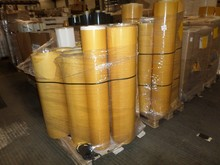 Stocklot of European double self-adhesive material on roll