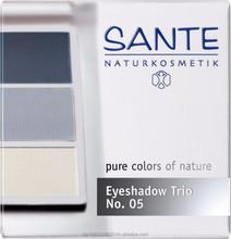 Sante, organic / bio Eyeshadow Trio ocean blue No. 05