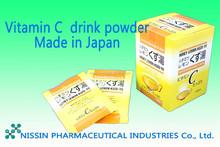 Lemon flavored vitamin C drink powder, sweet tasty by honey