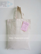 Best Selling Amenity Cotton Canvas Tote Bag From Hanoipie Manufacturer