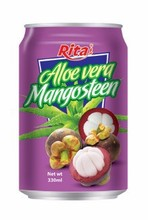 Pure Aloe Vera with Mangosteen in 330ml.