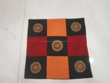 multi colour pillowcase, handmade pillow case from vietnam, soft pillow case